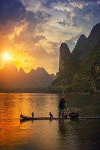Cormoran Fisher, Guilin, China