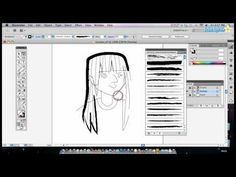 How to Use Brushes in Adobe Illustrator - YouTube