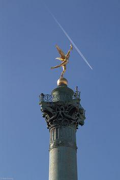 July column, place de la Bastille by Eerko, via Flickr
