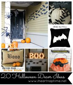 20 Halloween Decor Ideas on iheartnaptime.com #halloween #decor