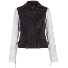AllSaints Albany Biker Leather Jacket Size 10 $300 @chmail10  If you aren't already on #Poshmark, sign up with code HRTLC for $5 credit. #designer #fashion #shoes #jewelry Host closet - @Design Hamptons