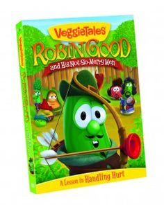"""Veggie Tales """"Robin Good & His Not-So-Merry Men""""  Great message for kiddos!"""