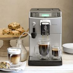 Saeco Minuto Espresso Machine #williamssonoma   The first fully automatic COFFEE machine