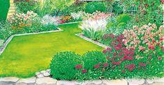 Ein Reihenhausgarten Bedeutet Oft Langweile Pur, Denn Das Kleine Schmale  Grundstück Lässt Nicht Gerade Die