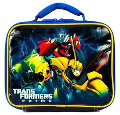 """Transformers Prime """"The Crew"""" Lunch Bag"""