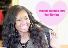 Indique Tahitian Curl Review - Inspired by Lisa   Where Life is Done...Beautifully