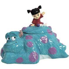 Walt Disneys Monsters Inc Sulley and Boo Figures Ceramic Cookie Jar New Unused | eBay