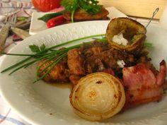 Važecká pochúťka | Míniny recepty Pork, Beef, Kale Stir Fry, Meat, Pork Chops, Steak