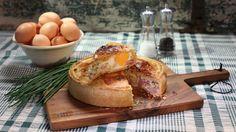 Pastel de beicon y queso (Egg and bacon pie) - Paul Hollywood - Receta - Canal…