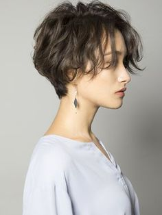 Latest Trendy Female Short Haircuts And Hairstyles 2019 - Page 28 of 32 - Ve., Frisuren,, Latest Trendy Female Short Haircuts And Hairstyles 2019 - Page 28 of 32 - Ve. - Source by Shot Hair Styles, Curly Hair Styles, Hair Inspo, Hair Inspiration, Short Hairstyles For Women, Thin Hairstyles, Hairstyles 2016, Short Hair Girls, Short Female Hairstyles