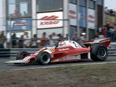 1976 Zandvoort Ferrari 312T2 Clay Regazzoni
