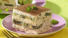 Prajitura de vara, racoritoare cu kiwi! Gata imediat si FARA COACERE! Nu ai mai mancat asa ceva niciodata! Vezi AICI cum se face 80s Party Foods, Sweet Tarts, Kiwi, Something Sweet, Desert Recipes, Cake Cookies, Sandwiches, Sweets, Ethnic Recipes