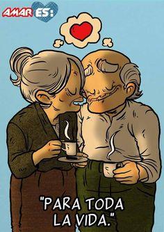 Amar es...                                                                                                                                                                                 Más