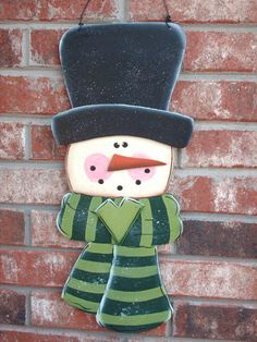 Snowman+Christmas+or+Winter+Decor+Wall+by+SassySouthernCharm