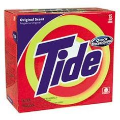 Tide as fertilizer to green your lawn & kill  moss, moles, grubs, insects, fungus, japanese beetles
