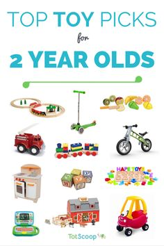 Top Toy Picks For 2 Year Olds