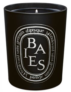 Sophie Holt's 10 favourite things: 3. OVERSIZED DIPTYQUE CANDLES Baies Noire is my favourite scent.