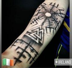 Warrior Tattoos, Badass Tattoos, Tattoos For Guys, Cool Tattoos, Viking Tattoo Sleeve, Norse Tattoo, Celtic Tattoos, Armor Tattoo, Forearm Tattoos