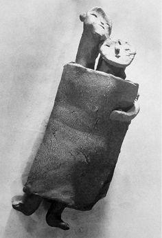 Isamu Noguchi - Marriage (ceramic, 1952.)