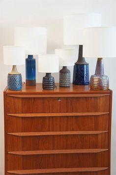 Ceramic lamp bases Angelucci 20th Century *DesignPatch