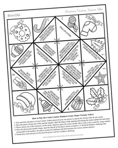 Are you Tavi Gevinson? Free printable cootie catcher for