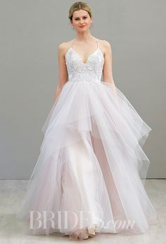 Brides: Hayley Paige Wedding Dresses   Spring 2016   Bridal Runway Shows   Brides.com   Wedding Dresses Style