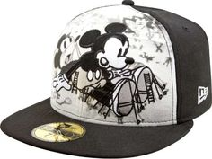 I would wear this ^^ Previous Pinner: NewEra has new #Disney hats. Can't find them online yet though.