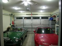 Ceiling LED garage lighting ideas   Home Interiors