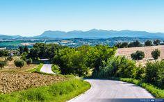 I Monti Azzurri visti da Morrovalle