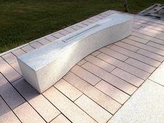 Bancs ZEN® - Bancs, murets bancs, sièges, gradins et bains de soleil béton poli - Mobilier Urbain - Quartzo Design - urban design