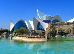 Океанографический парк, Валенсия, Испания Valencia, Opera House, Building, Travel, Beautiful, Traveling, Viajes, Buildings, Trips