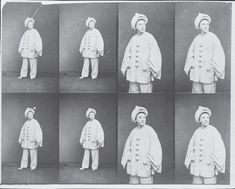 André Adolphe-Eugène Disdéri, Paul Legrand (clown in white face), 1860-1865 George Eastman House