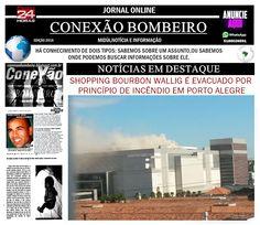 CONEXÃO BOMBEIRO : SHOPPING BOURBON WALLIG É EVACUADO POR PRINCÍPIO D...