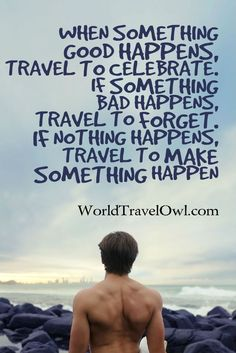 #Travel to Celebrate  Know some one looking for a recruiter we can help and we'll reward you travel to anywhere in the world. Email me, mailto:carlos@recruitingforgood.com