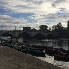 The Thames looking lovely by #richmond