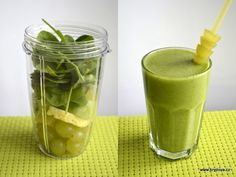 Skvělý je i zázvor. Smoothie Detox, Smoothie Recipes, Smoothies, Health Diet, Health Fitness, Nutribullet, Healthy Lifestyle, Food And Drink, Nutrition