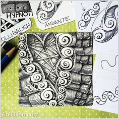 Learn how to create amazing Zentangle®️️ • enioken.com