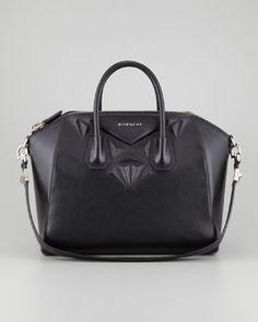 ac2848660fd4 Antigona 3D Stud Medium Satchel Bag, Black by Givenchy at Bergdorf Goodman.  Givenchy Handbags