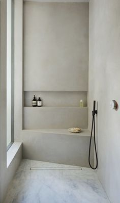 Home Interior Ideas 130 splendid small bathroom remodel ideas for you 23 Modern House Design.Home Interior Ideas 130 splendid small bathroom remodel ideas for you 23 Modern House Design Shower Remodel, Remodel Bathroom, Minimalist Bathroom, Bathroom Inspiration, Bathroom Ideas, Bathroom Vinyl, White Bathroom, Bathroom Shelves, Bathroom Designs