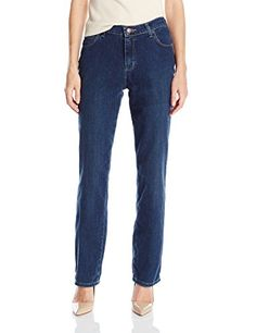 Lee Women's Tall Relaxed Fit Straight Leg Jean, Authentic Nile, 10/Tall ** Find out more details @