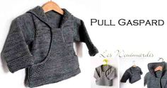 Pull Crochet, Knit Crochet, Pull Bebe, Loom, Kids Outfits, Couture, Knitting, Sweaters, Patterns