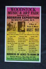 Woodstock Tour Poster 1969 #1