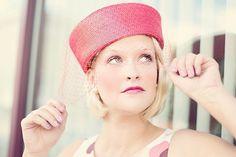 Jahrgang, Frau, Hübsch, Glamouröse, Attraktiv, Hut