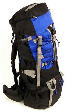 7000 Cubic inch Blue Alpine Trekking Hiking Climbing Camping Backpack Gear  New  da1959824ac39