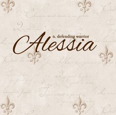 Alessia - defending warrior