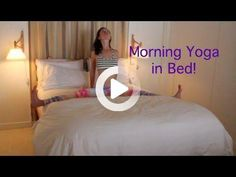 Morning Strala in Bed #morningyoga #morningyoga Tiny Elephant Tattoo, Small Elephant, Best Yoga Videos, Morning Yoga Stretches, Bed Yoga, Yoga Poses, Fitness, Youtube, Style Of Hair