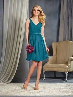 Alfred Angelo Bridal Style 7363S from All Bridesmaid Dress Collections