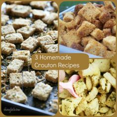 homemade crouton recipes