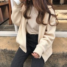 - cloudy𝕩heart uploaded by 𝓶𝓪𝓻𝓲𝓪𝓷𝓪 on We Heart It korean fashion Korean Girl Fashion, Ulzzang Fashion, Asian Fashion, Look Fashion, 70s Fashion, Teen Girl Fashion, Fashion Mask, Korean Street Fashion, Young Fashion