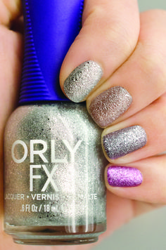 Orly MegaPixel FX 3D Glitter Collection takes your nails to the next dimension.